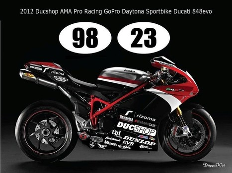848 @ Daytona with Ducshop | Ducati news | Scoop.it