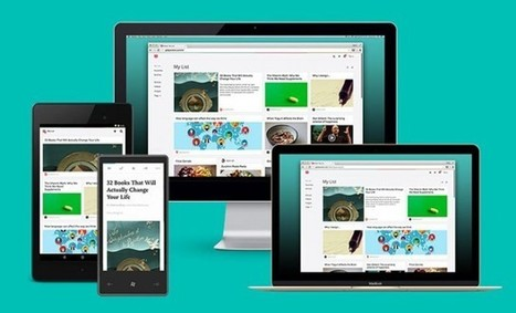 Pocket célèbre son 3e anniversaire et s'offre un ravalement de façade | Social Media, etc. | Scoop.it