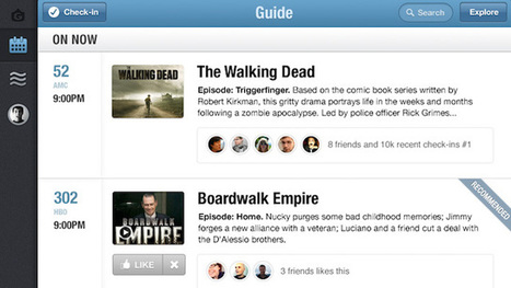 #SocialTV app GetGlue launches a personalized TV guide | Social TV addicted | Scoop.it