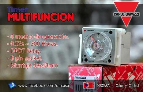DIRCASA - Timer Multifuncion Carlo Gavazzi | Facebook | #DIRCASA - Automatización, Calor y Control | Scoop.it