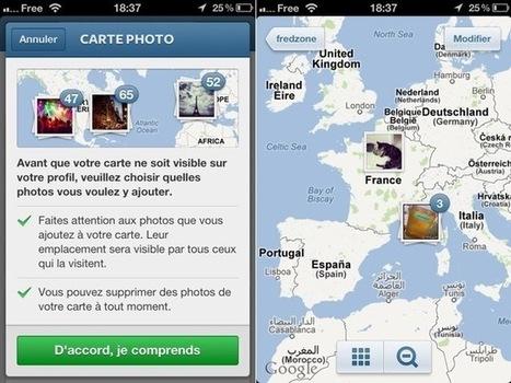 Instagram 3.0 : intégration d'une carte pour les photos et quelques changements cosmétiques | Je, tu, il... nous ! | Scoop.it