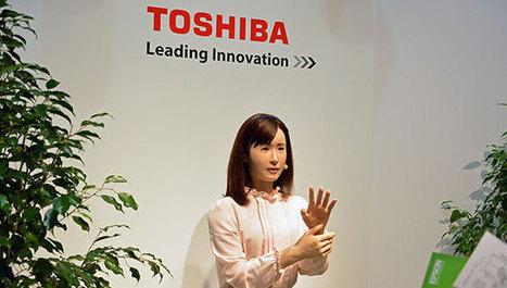 Toshiba prépare un humanoïde qui parle le japonais et la langue des signes | Per linguam | Scoop.it