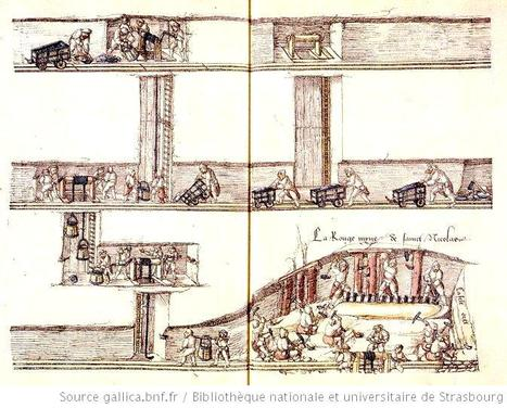 La Croix-aux-Mines : un recueil de dessins autour de la mine - généalogie et histoires lorraines   Merveilles - Marvels   Scoop.it