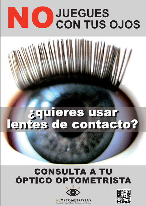 CAMPAÑA AEOPTOMETRISTAS:  LENTES DE CONTACTO | Salud Visual 2.0 | Scoop.it
