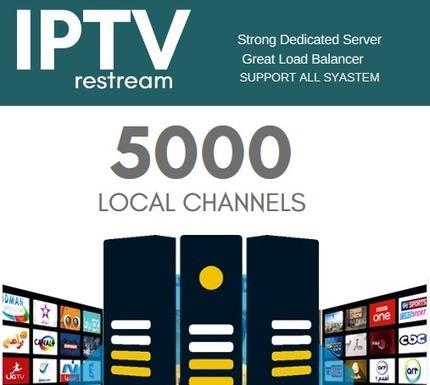 iptv restream channels