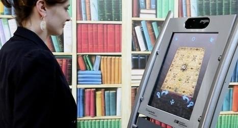 Des manuscrits médiévaux numérisés et manipulés en 3D | Ressources sur le Web | Scoop.it