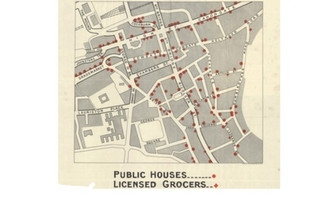 1923 map shows every pub in Old Town Edinburgh | Edinburgh Stories | Scoop.it