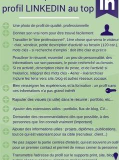 La check list pour un profil LinkedIn efficace   Au fil du Web   Scoop.it