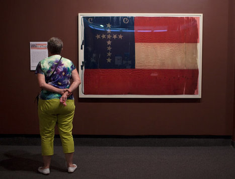 Even as Museum Piece, Confederate Flag Is in Dispute | Southern Geographies | Scoop.it