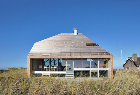 Dune House Mimics Its Sandy Surroundings | sustainable architecture | Scoop.it