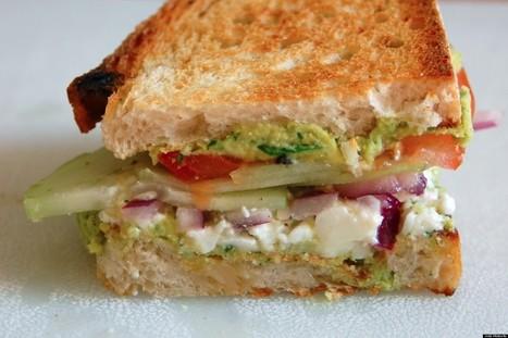 Best Of Both Worlds: Greek Salad Sandwich | Eco Living, Marketing, News | Scoop.it