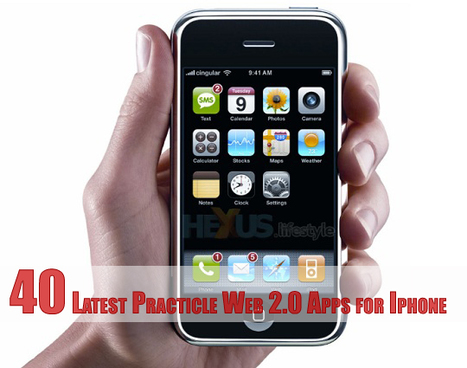 40 Latest Practicle Web 2.0 Apps for Iphone   Webblog360   Liberating Learning with Web 2.0   Scoop.it