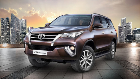 The All-New Toyota Fortuner Receives Over 10,000 Booking Orders   News Attitude   Scoop.it