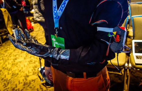 Gesture detecting air guitar glove with added head banging goodness   Raspberry Pi   Scoop.it