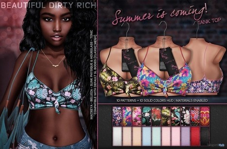 db582c317c Summer Is Coming Top Fatpack May 2018 Gift by Beautiful Dirty Rich