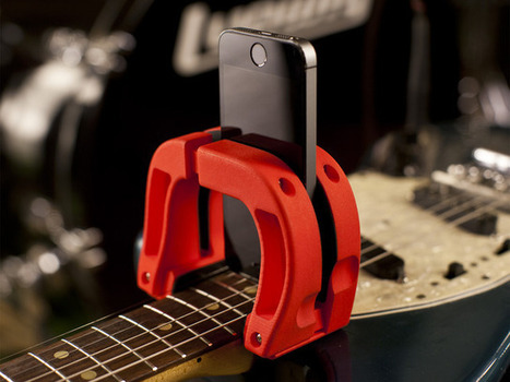 Magnet: Smartphone Camera Mount for Guitars :: Gadgetify.com | Education Technology | Scoop.it