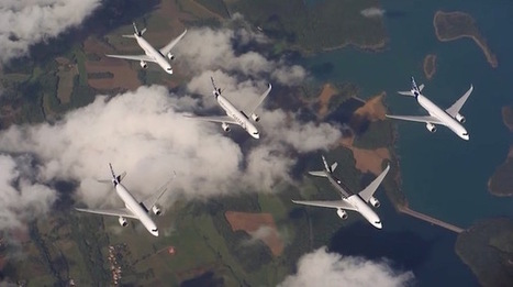 Airbus Captures Five $300M A350 Jetliners Flying Together In This Billion-Dollar Photo Shoot | Backlight Magazine. Photography and community. | Scoop.it
