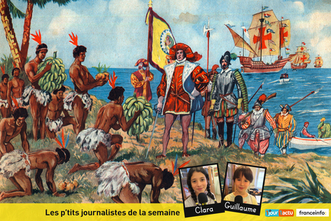 Comment Christophe Colomb a-t-il découvert l'Amérique ? - 1jour1actu.com - L'actualité à hauteur d'enfants ! | Ressources pour les TICE en primaire | Scoop.it