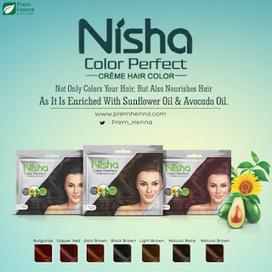 943ba9ee8 Creme Hair Color: Grab Nisha Color Perfect Crème Hair Color | Prem Henna Pvt .