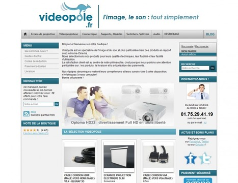 Témoignage de Pierre de la Boutique VideoPole | WebZine E-Commerce &  E-Marketing - Alexandre Kuhn | Scoop.it