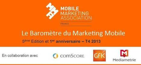 Baromètre du Marketing Mobile de la MMAF 4ème trimestre 2013 | Marketing web mobile 2.0 | ikommerce | Scoop.it