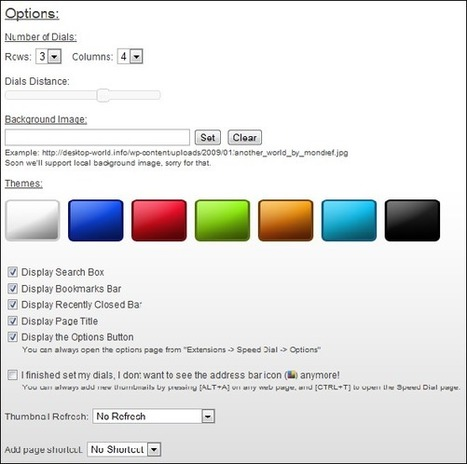A Guide to Customizing the New Tab Page in Google Chrome | Techy Stuff | Scoop.it