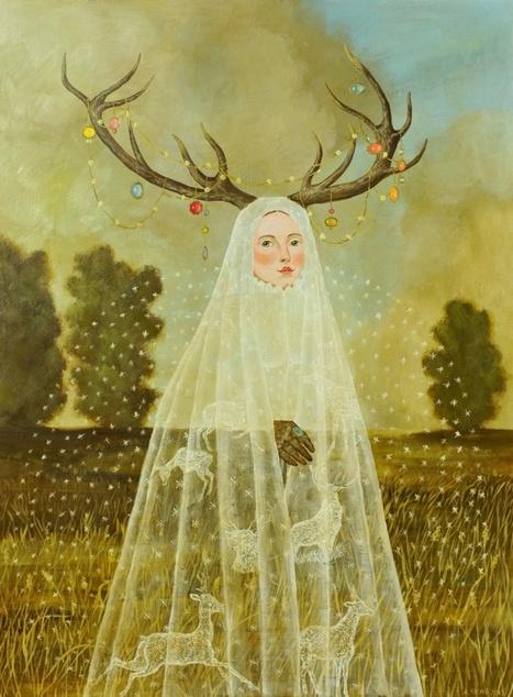 Anne Siems   #Painting #Art | No. | Scoop.it