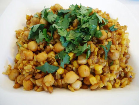 Colourful Chickpeas Pulav Recipe | The Butter | Scoop.it
