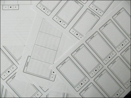 20 Free Printable Sketching and Wireframing Templates   Learning Web Design   Scoop.it