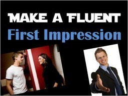 How to Make a Fluent First Impression in English | David Bradshaw ESOL | Scoop.it