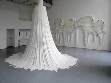 トイレットペーパーの美しいアート作品「Translayers」: DesignWorks | アート/デザイン | Scoop.it