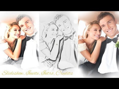 Wedding Intro and Wedding Slideshow Template Fr...