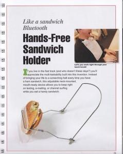 Mangez vos sandwichs sans les mains ! | All Geeks | Scoop.it