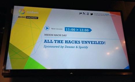 Let's go to France to write some code | Music Hack Days Midem 2014 | Radio 2.0 (En & Fr) | Scoop.it