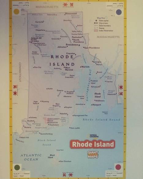 Giant Traveling Map of Rhode Island | Rhode Island Geography Education Alliance | Scoop.it