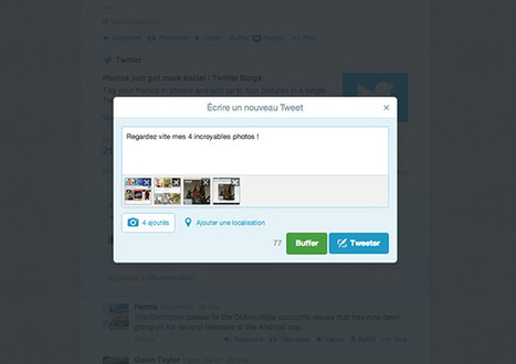 Il est enfin possible de joindre plusieurs photos à un tweet sur Twitter.com et sur Android   Presse Citron   Tout savoir sur Twitter   Scoop.it