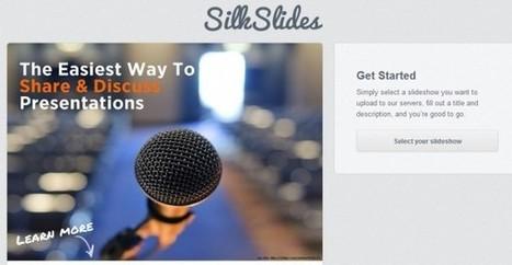 SilkSlides, servicio online para compartir y comentar diapositivas.- | Educar con las nuevas tecnologías | Scoop.it