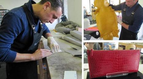 Maroquinier ici, il a le luxe de Paris dans la peau | Métiers, emplois et formations dans la filière cuir | Scoop.it
