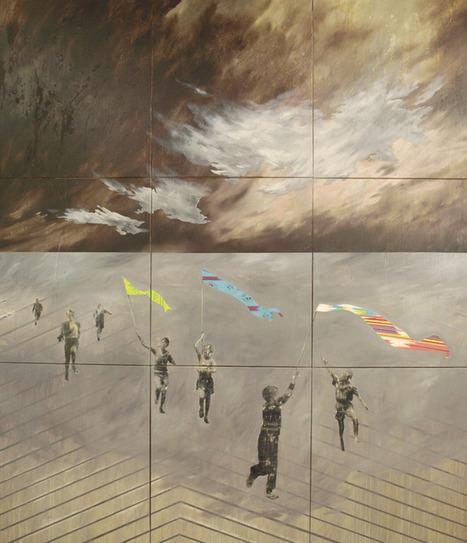 Behemoth Mixed Media Painting by Vanja Trobić Zagreb, Croatia Print:...   Affinities   Scoop.it