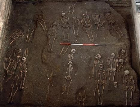 Medieval cemetery found under Cambridge college   Monde médiéval   Scoop.it