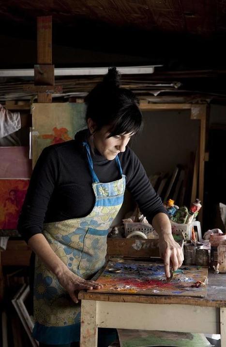 Vivir del arte: tanto talento para crear como para conseguir recursos - lanacion.com (Argentina) | ANZIZAR, Artista Visual Artist | Scoop.it