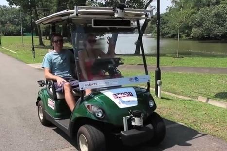 Self-driving golf carts | Robotic applications | Scoop.it