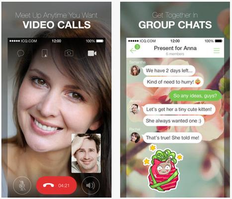 ICQ lance ses applications mobiles iOS et Android - Le Soir | e-biz | Scoop.it
