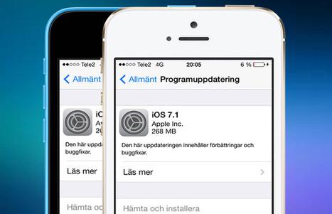 iOS 7.1 äntligen här - Mr Apple   it i skolan   Scoop.it