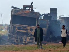 Libyan rebels cautiously optimistic after victory   Coveting Freedom   Scoop.it