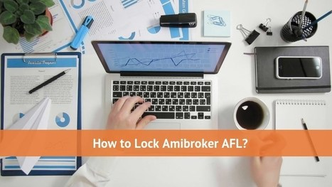 What is Amibroker AFL? How to Lock Amibroker AF