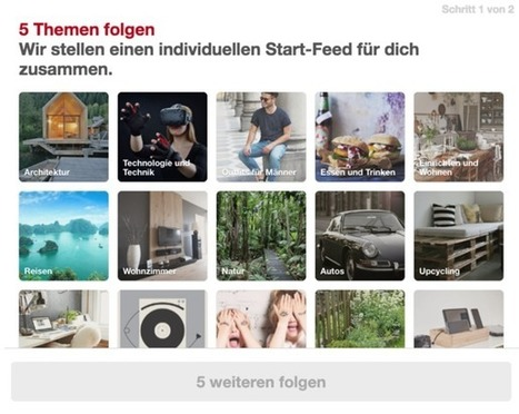 Personalizing Pinterest's new user experience abroad | Pinterest | Scoop.it