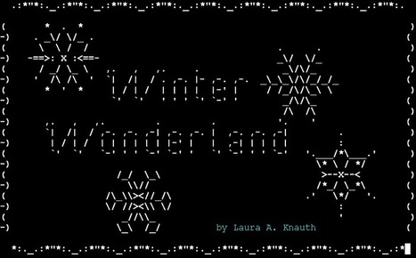Cover Art for Winter Wonderland | ASCII Art | Scoop.it