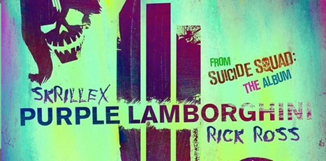 Skrillex And Rick Ross Purple Lamborghini Of