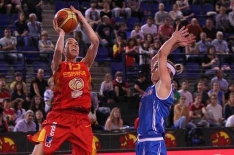 Torneo de Logroño. España pasa por encima de Gran Bretaña   Basket-2   Scoop.it